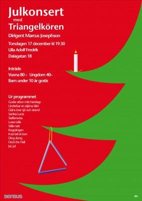 Triangelkörens julkonsert 2015_v2