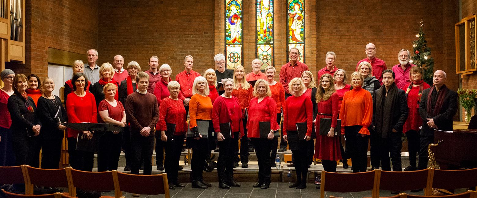 Julkonserten 2017 i Den Norske Kirke. Foto: Karolina Kristensson